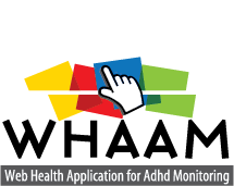 Whaam - Web Healt Application for ADHD Monitoring